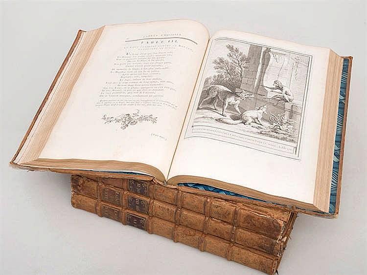 JEAN DE LA FONTAINE (1621-1695) Fables choises. Mises en vers