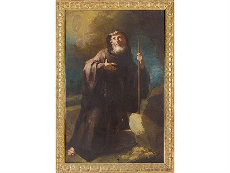 SPANISH SCHOOL, 17TH CENTURY Saint Anthony the Great