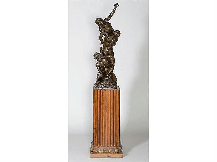 A BRONZE SCULPTURE, 19TH CENTURY