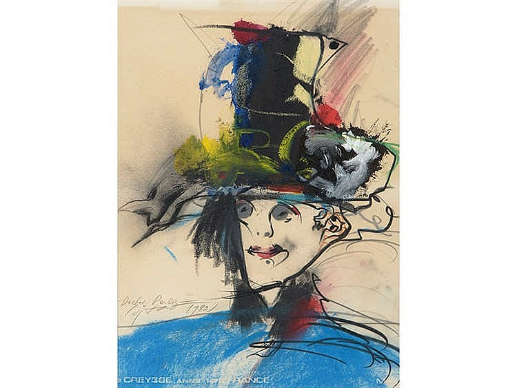 MODEST CUIXART ( Barcelona, 1925- Palamós, 2007) Retrato de doctor
