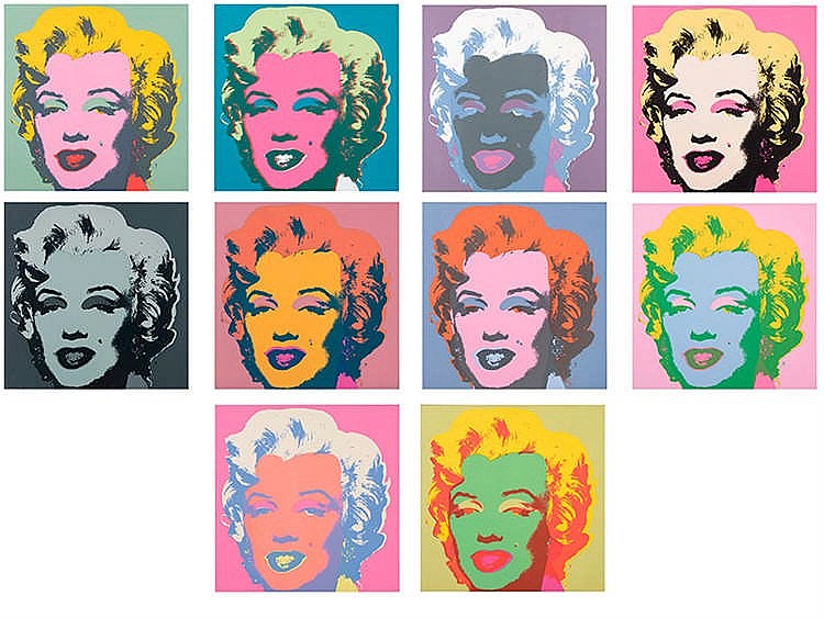 ANDY WARHOL (Pittsburgh, 1928 - New York, 1987) Marilyn