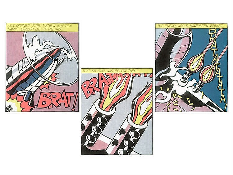ROY LICHTENSTEIN (New York, 1923-1997) As i opened fired