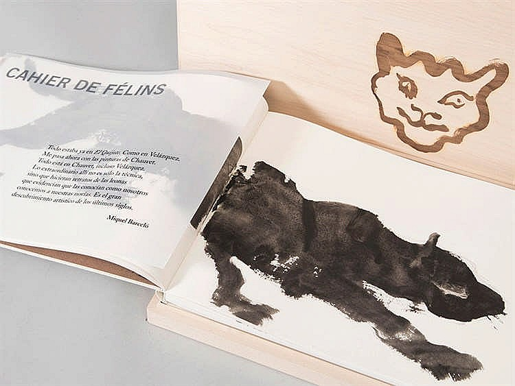 MIQUEL BARCELÓ (Felanitx, Mallorca, 1957) Cahier de felins