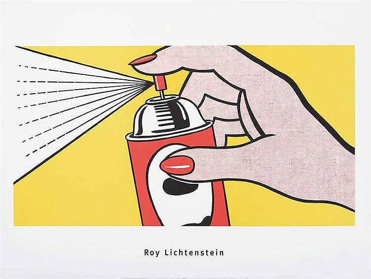 ROY LICHTENSTEIN (New York, 1923- 1997) Spray, 1962