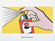 ROY LICHTENSTEIN (New York, 1923- 1997) Spray, 1962