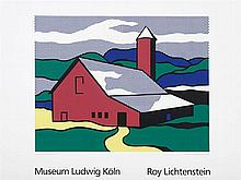 ROY LICHTENSTEIN (New York, 1923-1997) Red Barn II