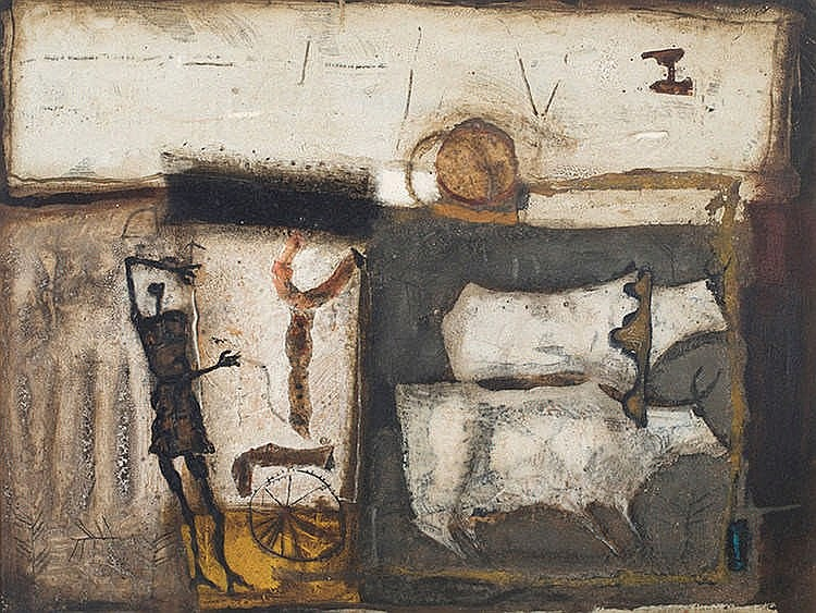 JOSEP GUINOVART (Barcelona,1927-2007) Untitled