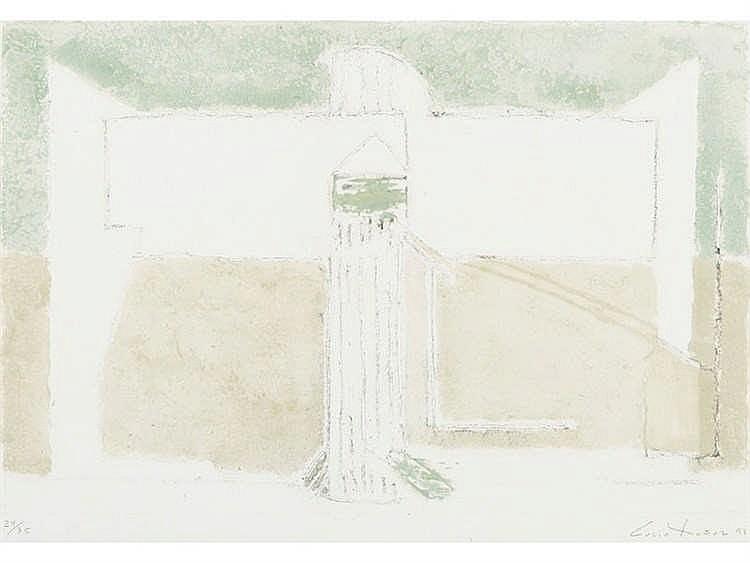 LUCIO MUÑOZ (Madrid, 1929 - 1998) Diderot Torre