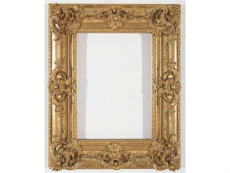 A BARROQUE STYLE FRAME