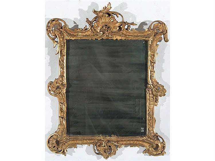 A FRENCH MIRROR, 19TH CENTURY