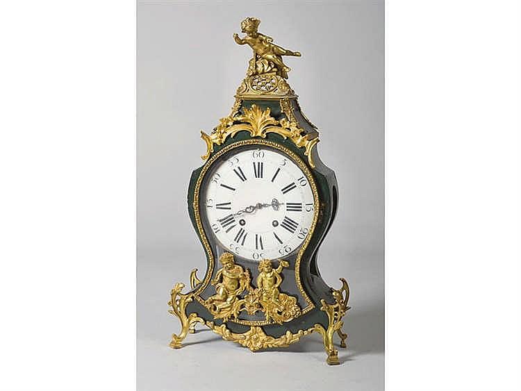 A SWISS MANTEL CLOCK, 18TH CENTURY