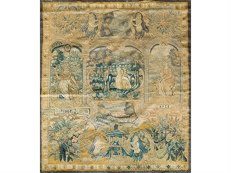 A FLEMISH TAPESTRY, 17TH CENTURY