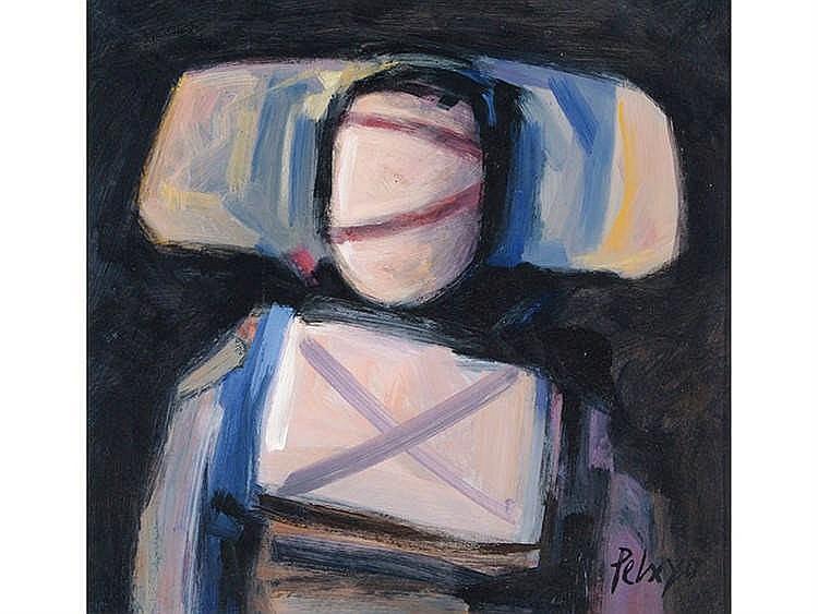 ORLANDO PELAYO (Gijón, 1920-Oviedo, 1990) Portrait Apocriphe