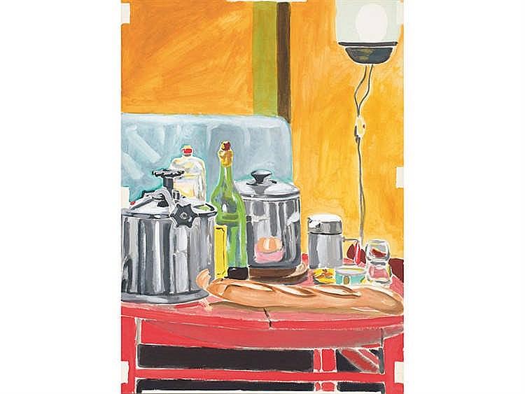 MANUEL QUEJIDO (Seville, 1946) Kitchen Still Life