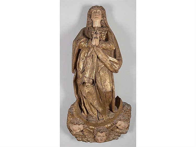 SCHOOL OF RIOJA OR NAVARRA, LATE 16TH CENTURY Immaculate Virgin