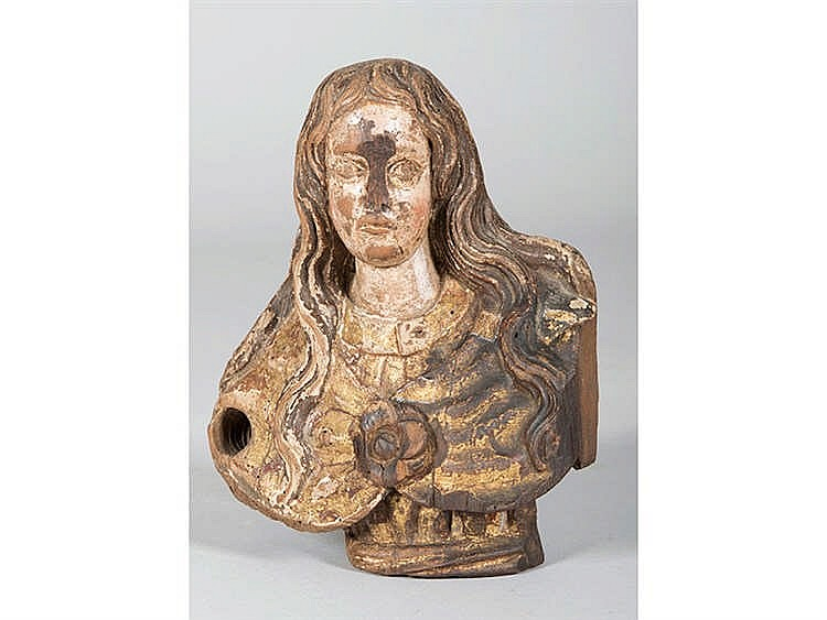 SPANISH SCHOOL, 17TH CENTURY A Female Bust