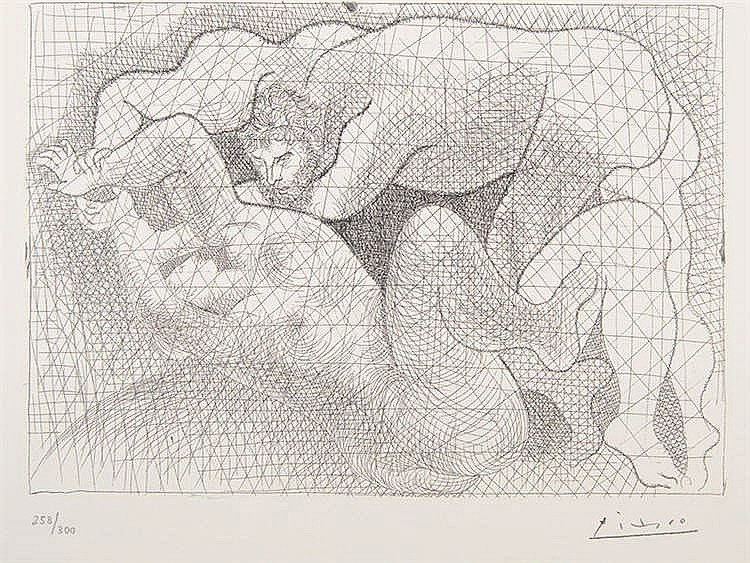PABLO RUIZ PICASSO (Malaga, 1881-Mougins, 1973) Le Viol