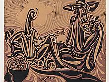 PABLO RUIZ PICASSO (Malaga, 1881-Mougins, 1973) Les vendangueurs