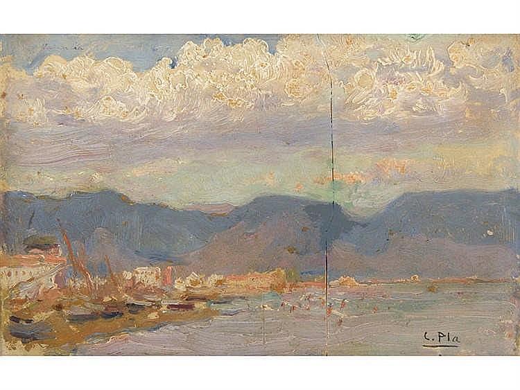 CECILIO PLA (Valencia, 1860-Madrid, 1934) Beach