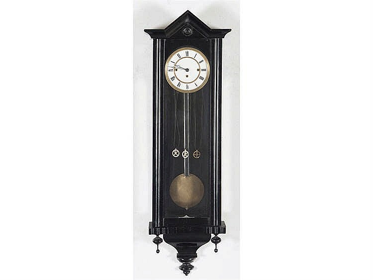 A VIENNESE REGULATOR WALL CLOCK, CIRCA 1870