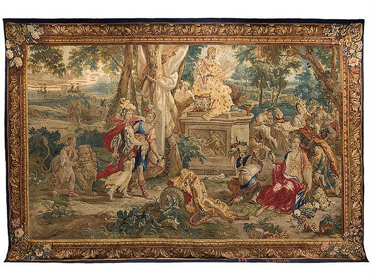 A BRUSSELS TAPESTRY, MID-17TH CENTURY