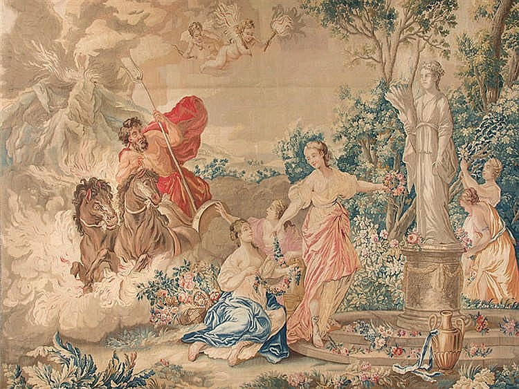 A BRUSSELS TAPESTRY, SECOND HALF 17TH CENTURY