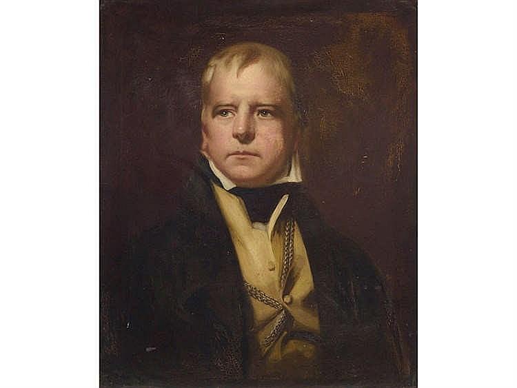 ENGLISH SCHOOL, 19TH CENTURY Male Portrait
