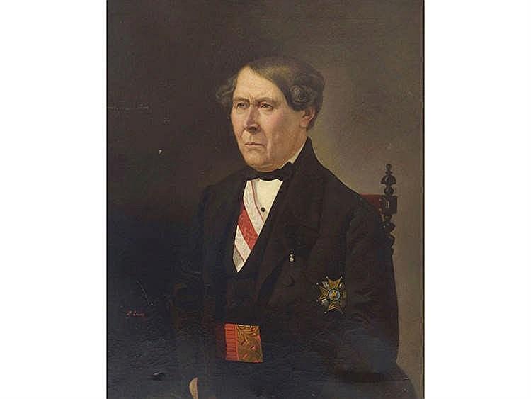 PAULINO DE LA LINDE ( Granada, 1837-?) Caballero