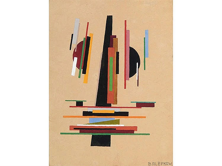 SUPREMATIST SCHOOL, 20TH CENTURY Abstraction