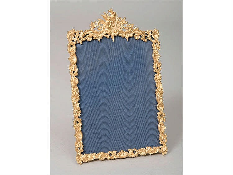 A FRENCH PHOTOGRAPH FRAME, LATE 19TH CENTURY