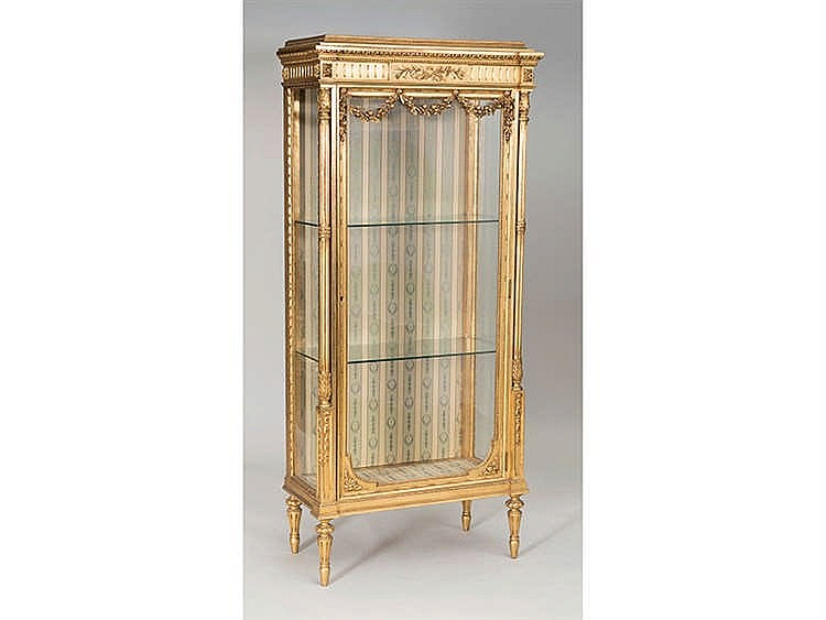 A LOUIS XVI STYLE DISPLAY CABINET