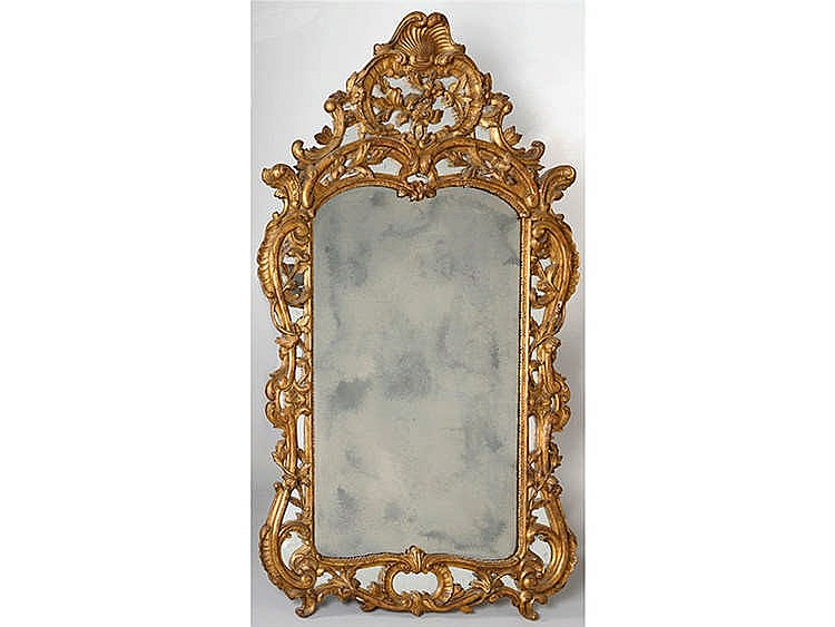 A PAIR OF MIRRORS, 19TH CENTURY