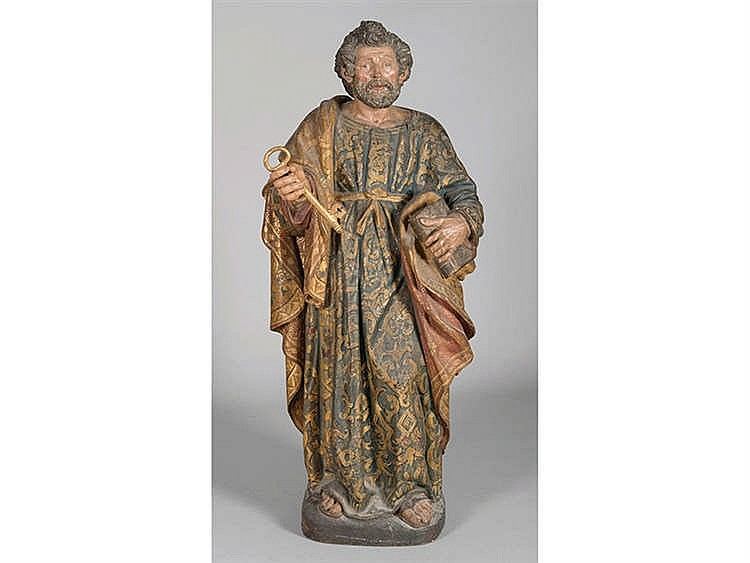 WORKSHOP OF JUAN MARTINEZ MONTAÑÉS, SEVILLE, CIRCA 1630 Saint Peter