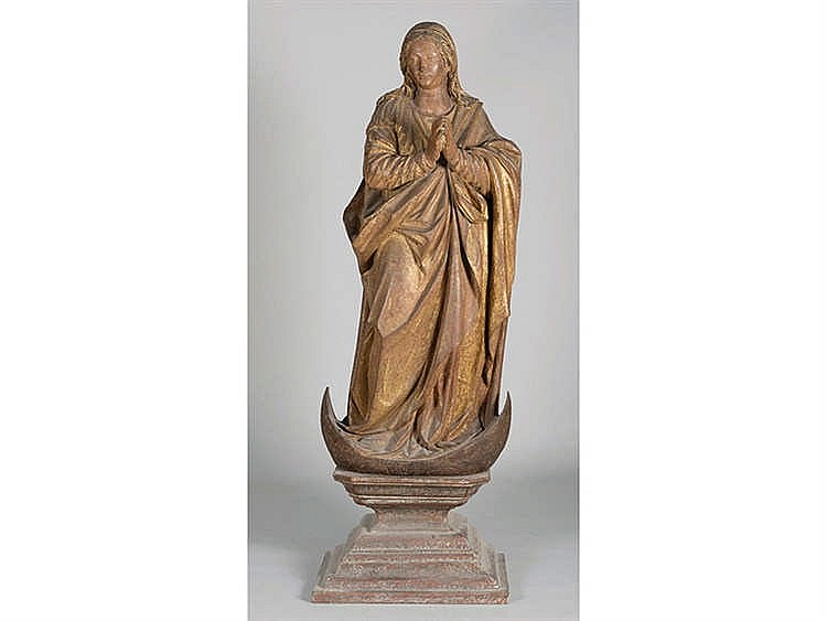 ATTRIBUTED TO ALONSO CANO, SEVILLIAN PERIOD, CIRCA 1520-1525 The Immaculate Virgin