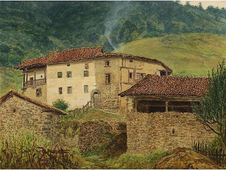 FRANCISCO NÚÑEZ LOSADA (Candelario, Salamanca, 1899-Madrid 1973) Vista de Santander