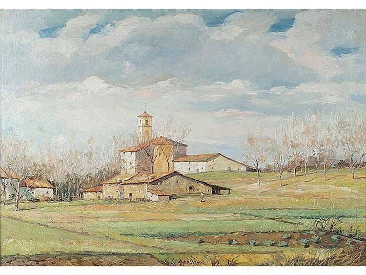 JESÚS APELLÁNIZ (Vitoria, 1897-1969) Landscape