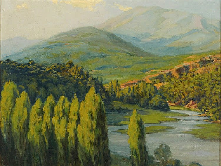 RAFAEL LLIMONA (Barcelona, 1896-1957) Landscape