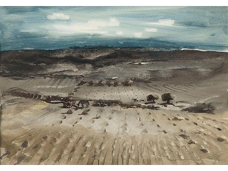 JOSE BEULAS (Santa Coloma de Farnés, Gerona, 1921) Tierras quemadas