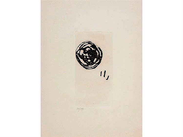 JOAN MIRÓ (Barcelona 1893- Palma de Mallorca, 1983) El inocente