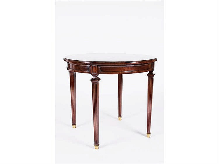 A LOUIS XVI STYLE OCCASIONAL TABLE