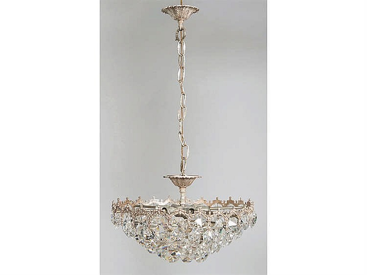 A FRENCH STYLE CEILING LAMP