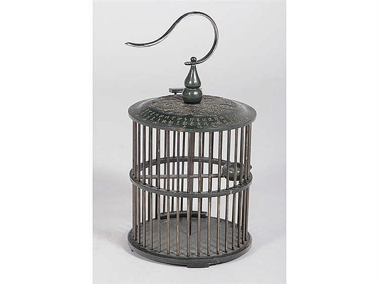 AN ORIENTAL STYLE CAGE