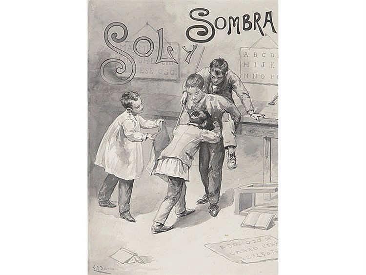 EMILIO POY DALMAU (Madrid, 1876 - 1933) Sol y Sombra