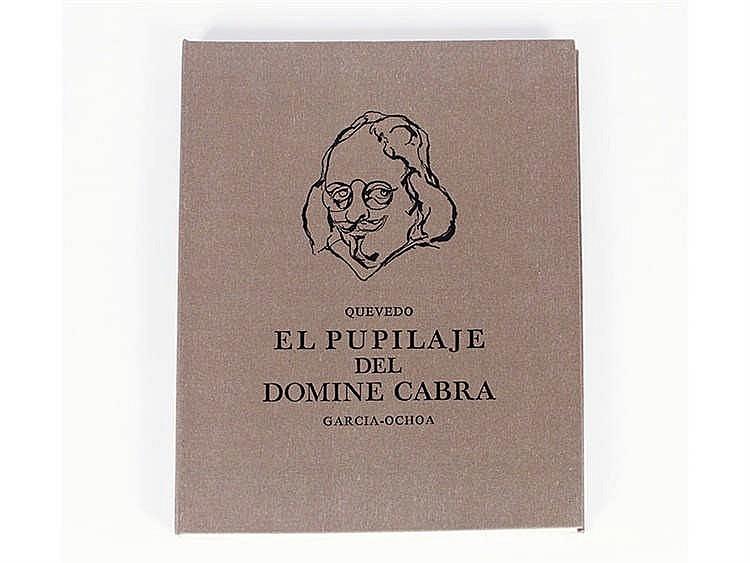 LUIS GARCÍA OCHOA (San Sebastián, 1920) El pupilaje del domine Cabra