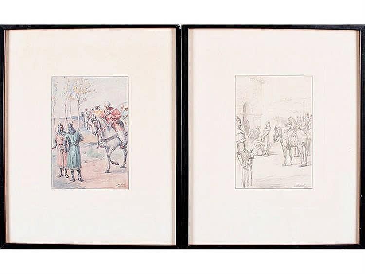 MARCELIANO SANTAMARÍA (Burgos, 1866-Madrid, 1952) El Poema del Mío Cid