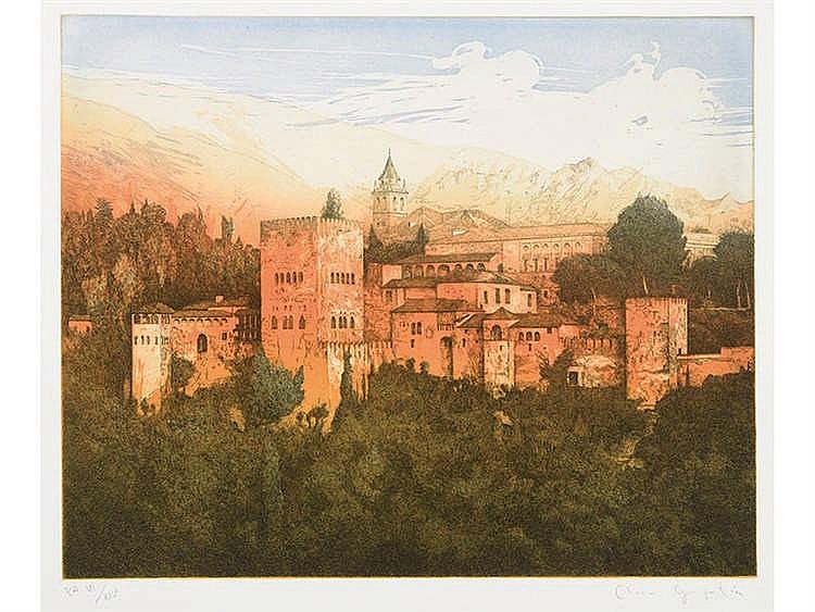 CLARA GANGUTIA (San Sebastián, 1952) La Alhambra