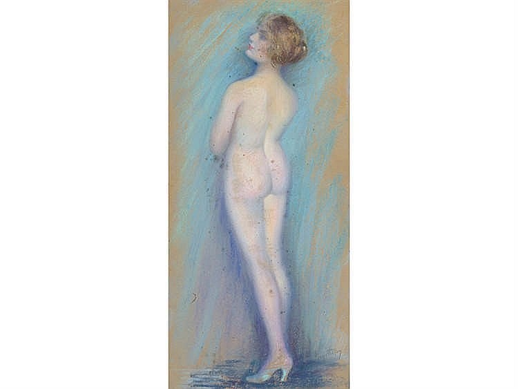 JOSEY PILLON (France, 1876-?) Female Nude
