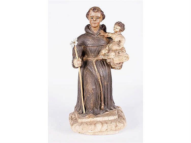 SCHOOL ARAGONESA XVIII Saint Anthony with the Child