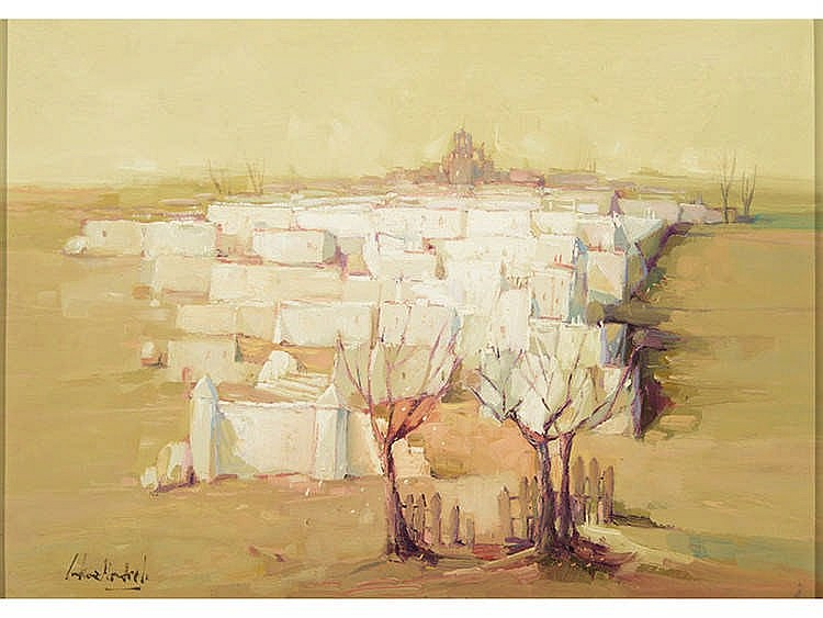 JUAN GUTIÉRREZ MONTIEL (Jerez de la Frontera, Cádiz, 1934) Casas