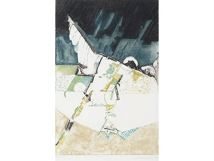 LUCIO MUÑOZ (Madrid, 1929-1998) Untitled